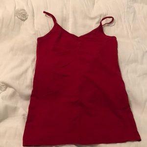 Red forever 21 v neck cami